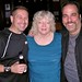 Jackie with Billy Tucci and Jimmy Palmiotti