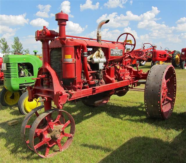 Antique Tractor Steel Wheels : Antique steel wheel gas engine farmall tractor flickr