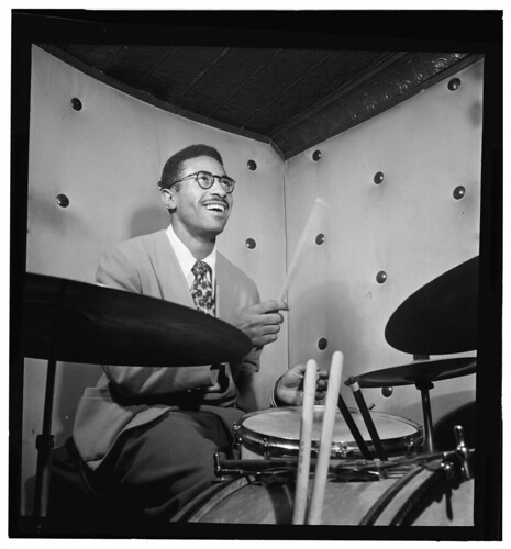 Max Roach, Three Deuces, New York, N.Y., ca. Oct. 1947