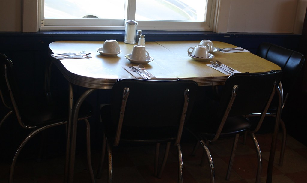 Chrome Kitchen Table And Chairs Table And Chairs 7 Piece Dining Table Set