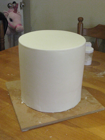 Practice Cake! 9 inches high!