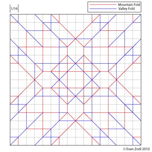 Flickriver Photoset Diagrams Crease Patterns By EZ Origami