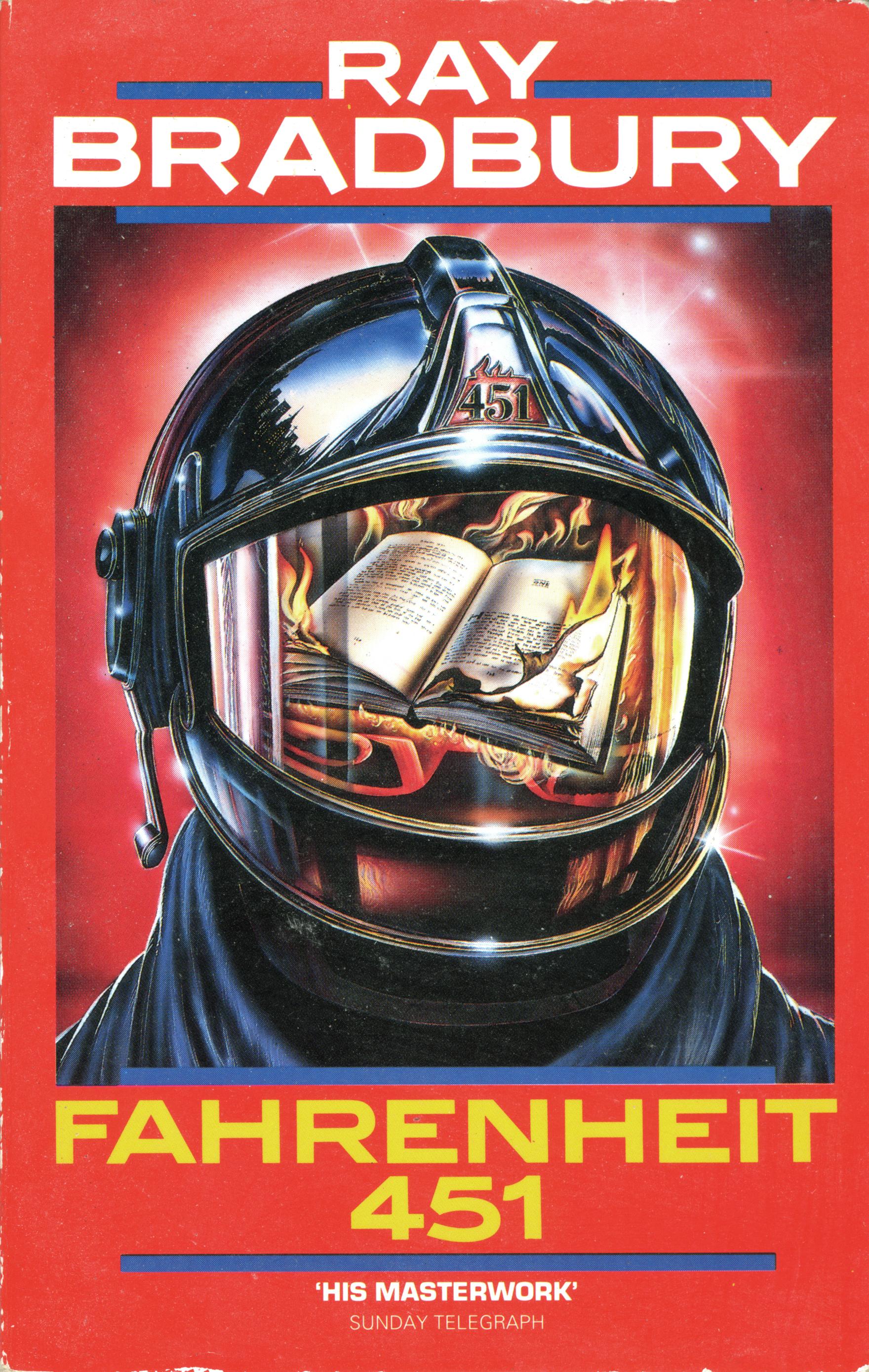 ray bradbury's novel fahrenheit 451 an The trouble with girls artist tim hamilton adapts a classic.