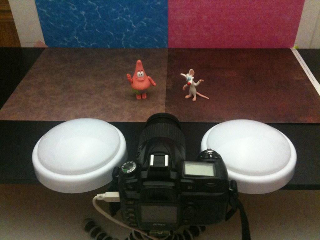 Patrick Star vs. Pinky Setup