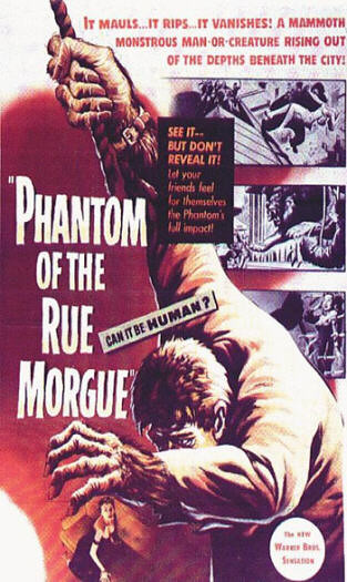 Phantom Of The Rue Morgue (Poster)