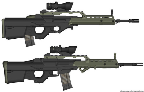 F2000 Mashup Set 3 - G36 Comparison