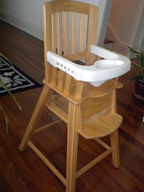 Eddie Bauer Wood Highchair Flickr Photo Sharing