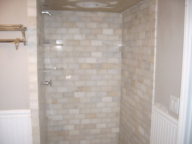 Marble Subway Tile Shower Flickr Photo Sharing