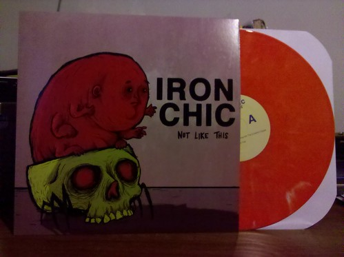 Iron Chic - Not Like This LP - Orange Vinyl /100