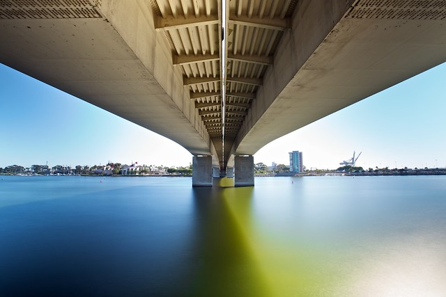under the queensway bridge