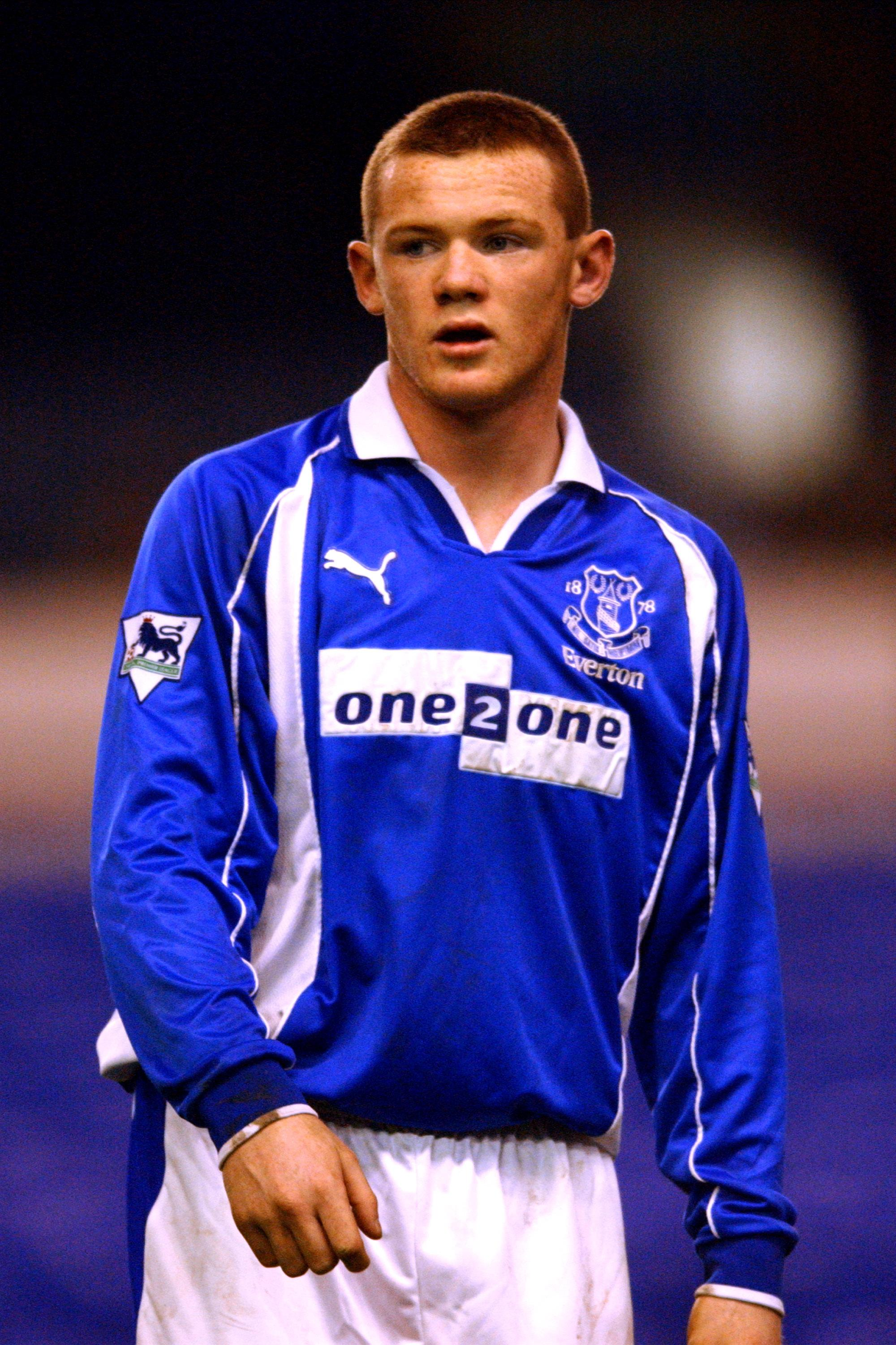 Wayne Rooney Teenager