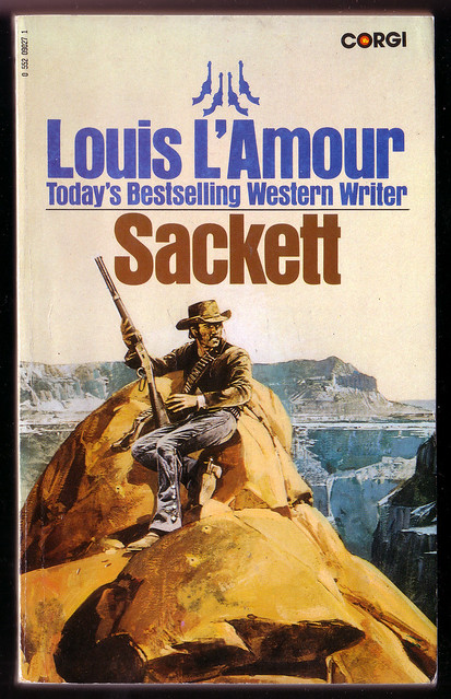Paperback Louis L'Amour The Iron Marshall 1981