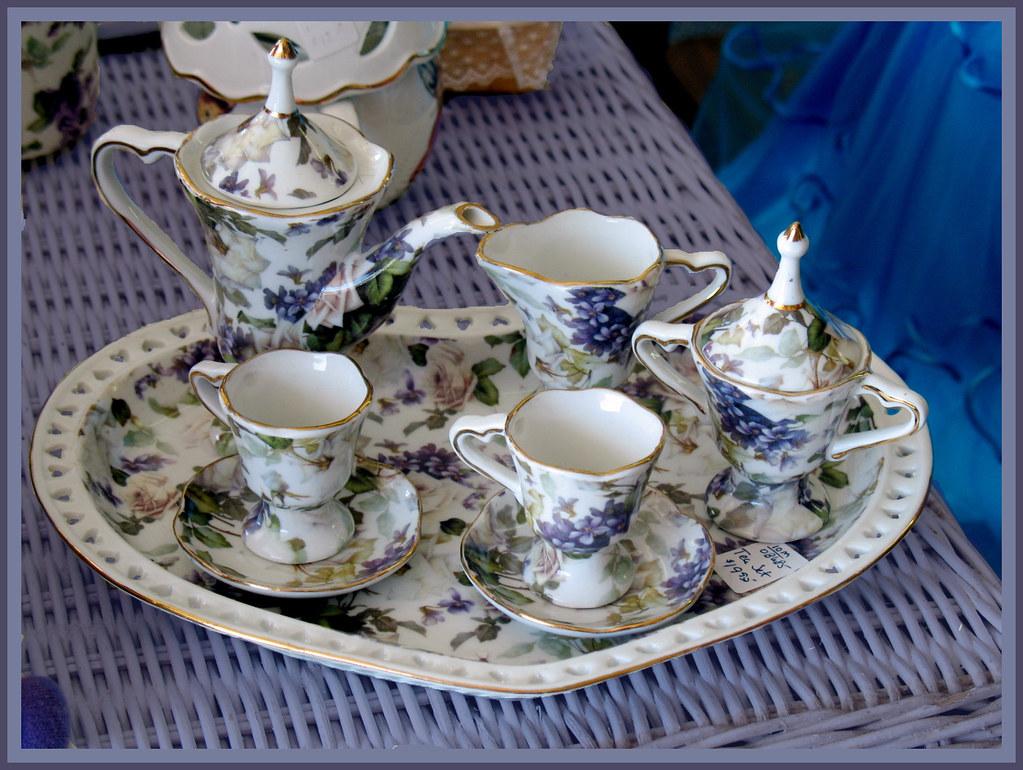 Antique Miniature Tea Sets Antique Miniature Tea Sets