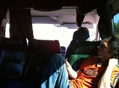 Jon in typical touring pose