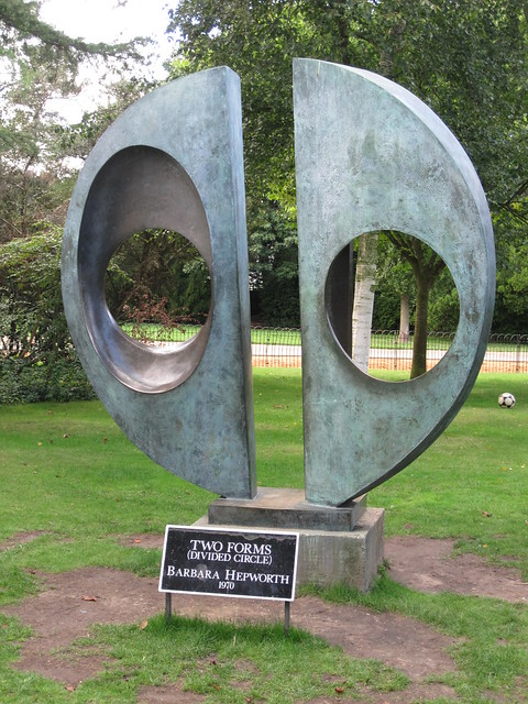 Sculpture in Dulwich Park