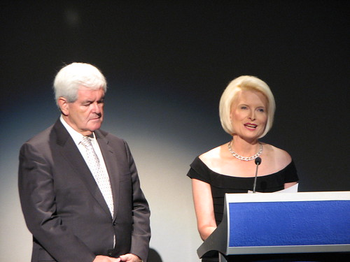 Newt Gingrich and Callista Gingrich, September 11, 2010, S3016602