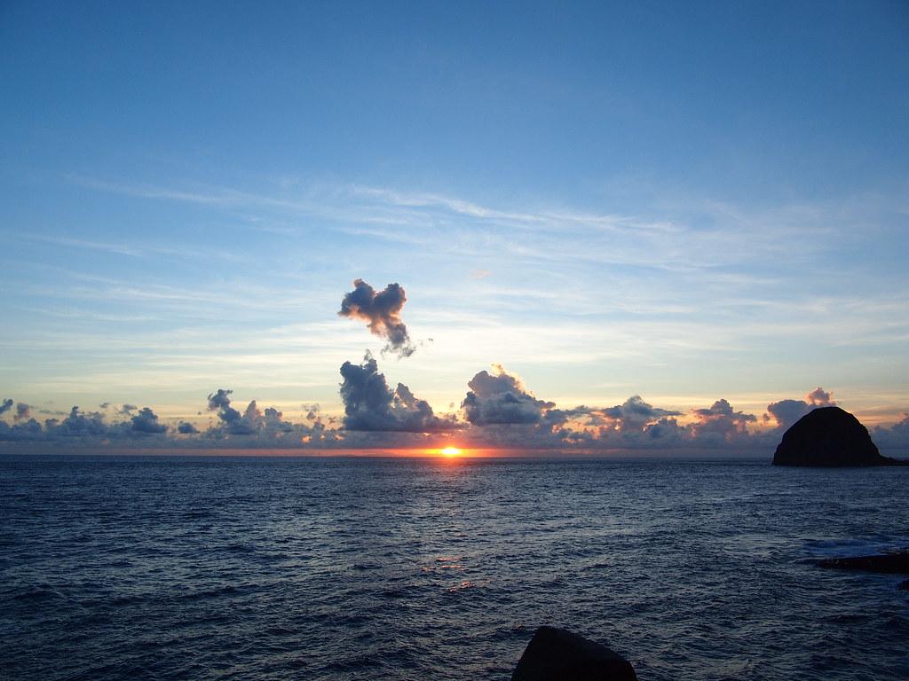 蘭嶼 Day 1 夕陽