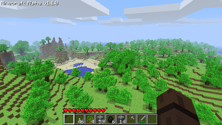 Minecraft now controls the horizontal and the vertical | Flickr