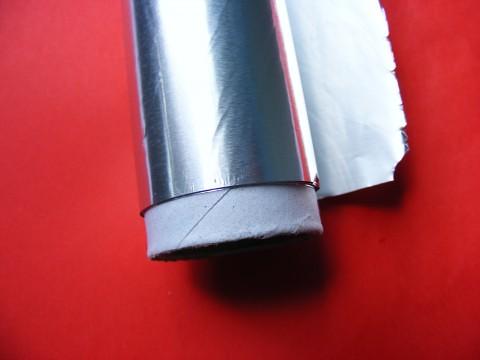 rotolo di carta di alluminio