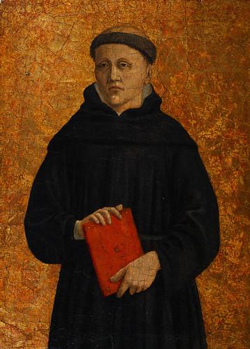 Augustinian Monk, Piero della Francesca, 1454-1469