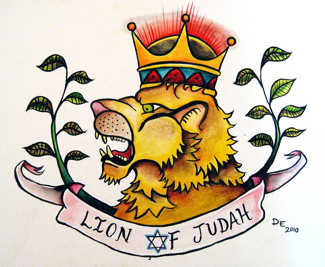 Lion of Judah tattoo design for friend
