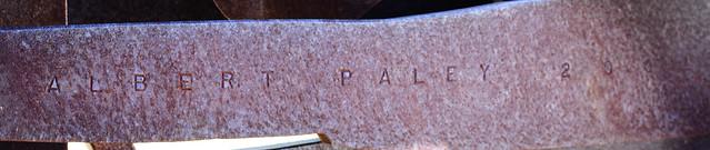 Header of Albert Paley