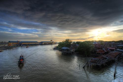 sunset boat perlis kualaperlis nikonmdpai