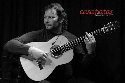 La guitarra inconfundible de Camarón de Pitita. Foto: Martín Guerrero