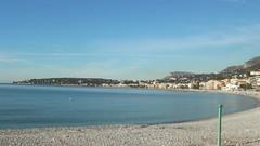 De kust van Menton