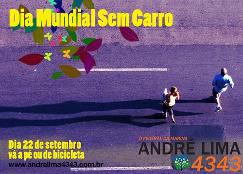 Cartão Dia Mundial Sem Carro