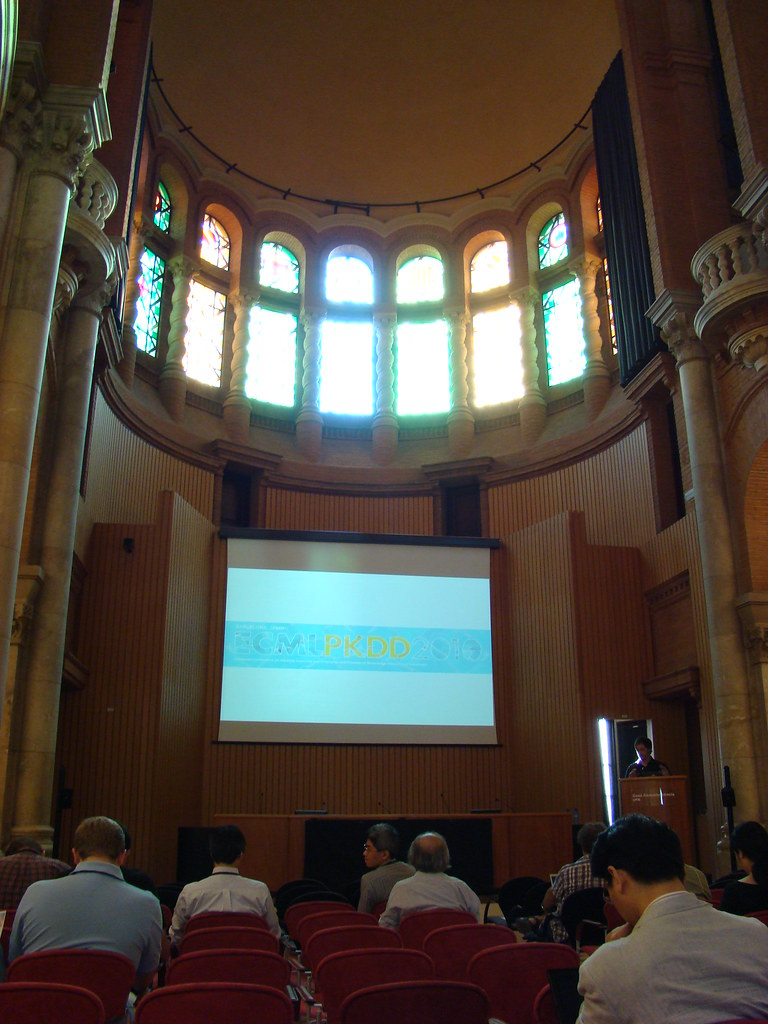 Aula Magna in the morning