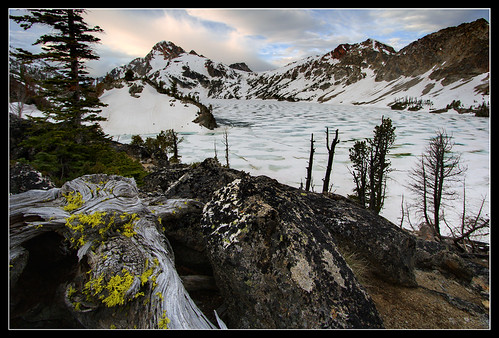 Sawtooth Lake - summer is almost here