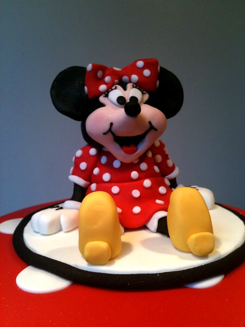 Minnie Mouse Cake Topper Images : Minnie Mouse cake topper Flickr - Photo Sharing!