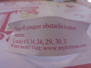 I will conquer obstacles