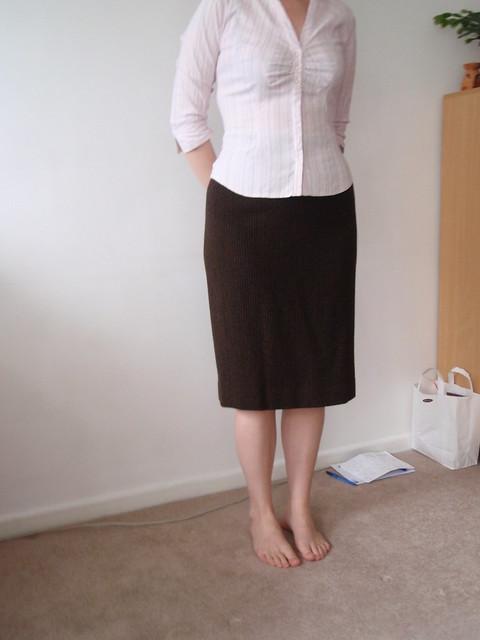 Vintage skirt front