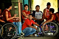 wheelchair basketball(0.0), indoor cycling(0.0), cycling(0.0), basketball(0.0), wheelchair(1.0), wheelchair sports(1.0), disabled sports(1.0),