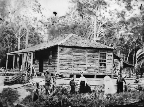 photographer queensland pioneers statelibraryofqueensland slq slabhut williamboag