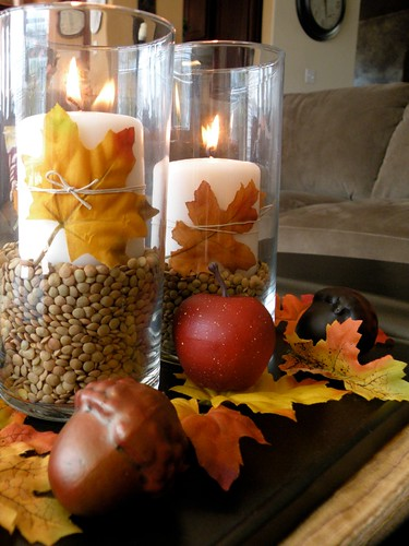 A Fall Centerpiece