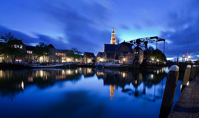 Maassluis @ Blue Hour