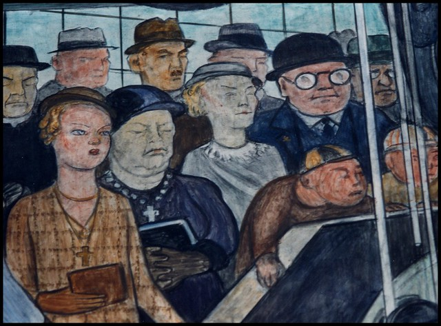 Diego rivera mural detail flickr photo sharing for Diego rivera lenin mural