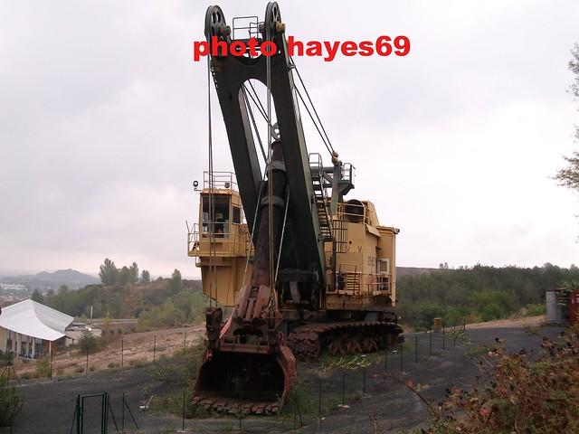 BUCYRUS 295B Pelle à cable/Giant excavator