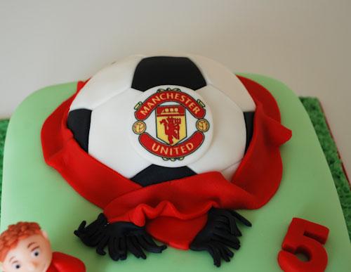 Manchester United Happy Birthday Cake