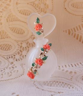 Tearose Jewelry Embellished Perfume Bottle