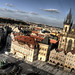 Old town square view. Prague. Vista de la Plaza vieja. Praga