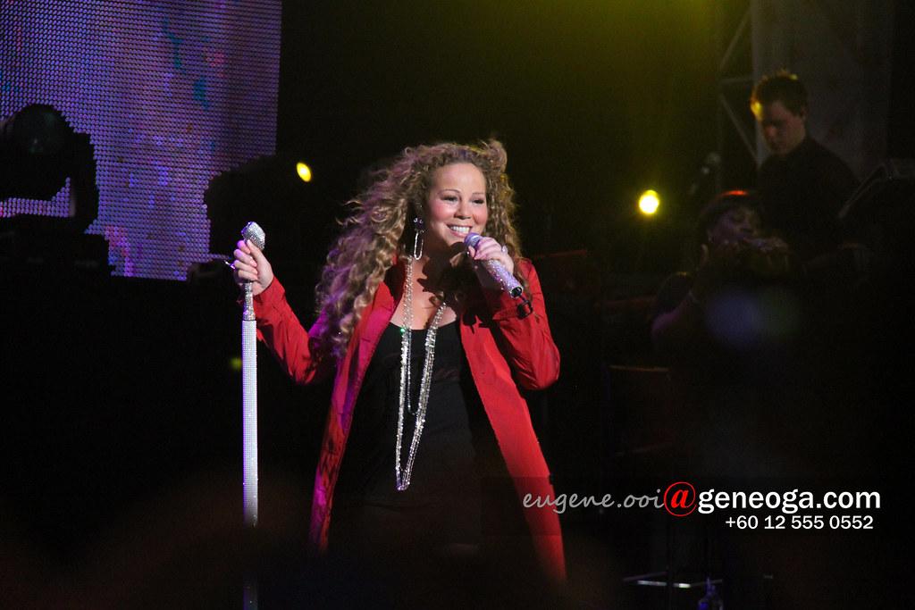 Mariah at Singapore F1