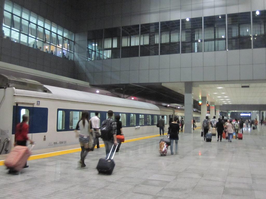 Train to Xian