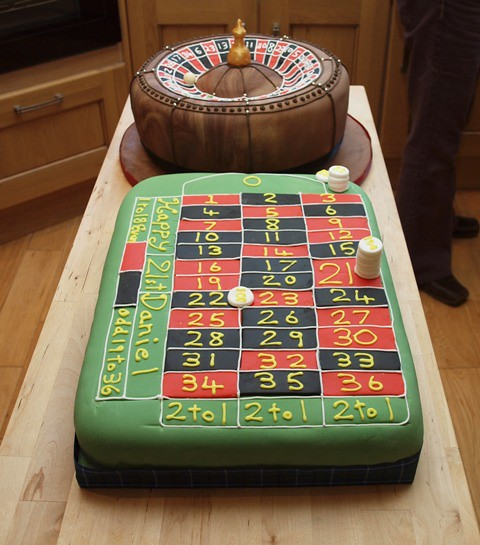 Casino Birthday Cakes A Gallery On Flickr