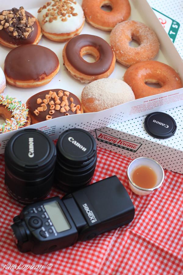 كرسبي كريم قهوة الصباح مع الوالد بعد ان تم تهريب كمية م Flickr