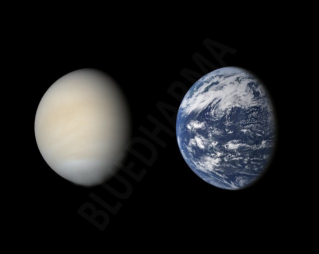 venus and planet earth - photo #23