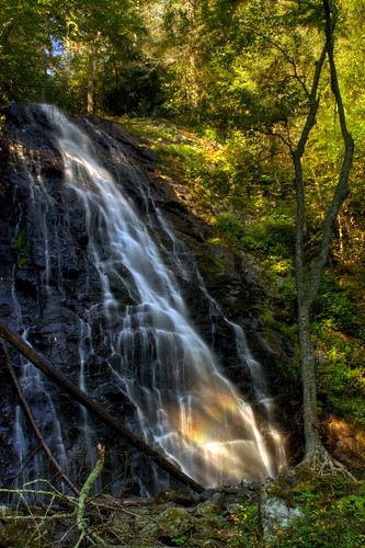 longexposure trees sun waterfall nc rainbow rocks northcarolina blueridgeparkway crabtreefalls brp ncmountains yanceycounty waterfallphotography davidhopkinsphotography ncpedia